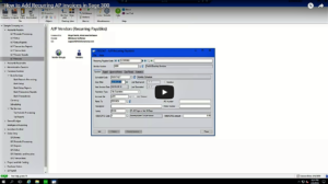 How to Add Recurring AP Invoices in Sage 300 Video